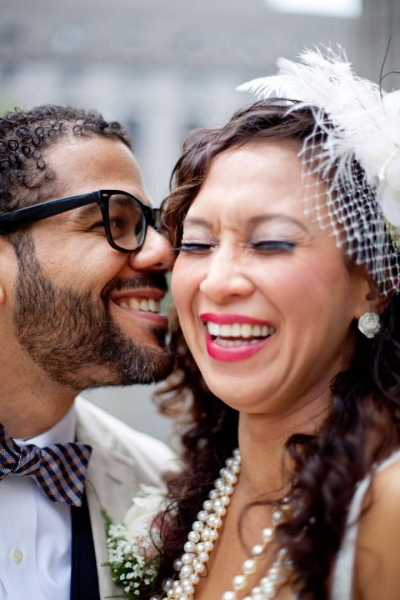 close up of bride and groom, best of