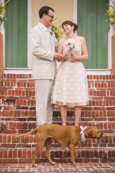 newlyweds and their dog.jpg