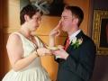 bride puts cake on grooms nose.jpg