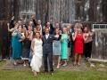 wedding party celebrate at a farm.jpg