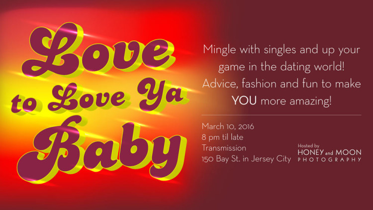graphic for love to love ya event