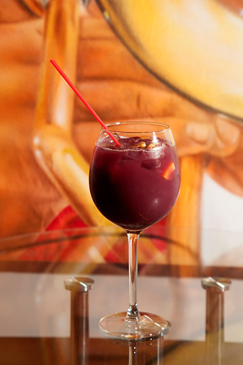 This luscious Sangria will get your blood flowing on the dance floor!